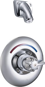 Delta Faucet Teck® 1.5 gpm Single Lever Handle Tub and Shower Trim in Polished Chrome (Trim Only) DT13H163