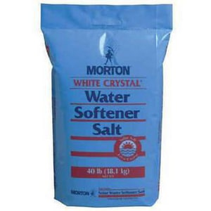 Morton Salt Crys Pellets White Salt MOR3983