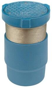 Zurn Industries 4 in. Floor Cleanout Level Trol Adjustable with Bronze Plug ZZN14004NLBP