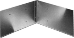 Stern-Williams Splash Catcher® 24 x 36 in. Plus Corner Bracket 2-Panel SBP22436