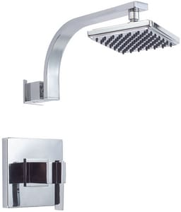 Danze Sirius™ 1-Hole Pressure Balancing Shower and Valve with Single Lever Handle and Rain Shower Showerhead DD500544