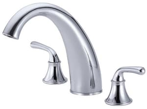 Danze Bannockburn™ 3-Hole Roman Tub Faucet Trim Kit with Double Lever Handle DD303656T