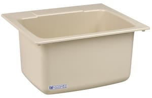 E.L. Mustee & Sons 22 x 25 x 13 in. Countertop Laundry Sink M10