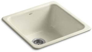 Iron/Tones® No-Hole 1-Bowl Kitchen Sink K6587