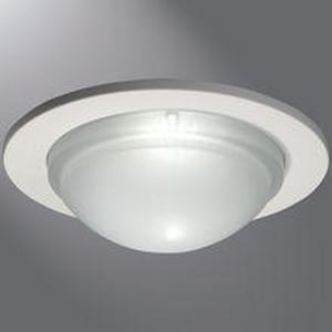 Halo Lighting Air-Tite™ 40 W 1-Light Shower Trim in White H5054PS