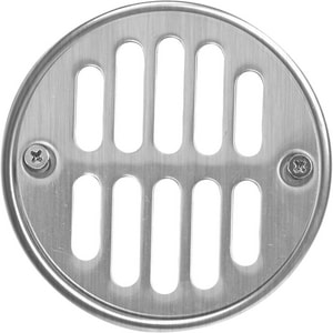 Monogram Brass? Round Tub / Shower Drain Cover Brushed Nickel MB604BN