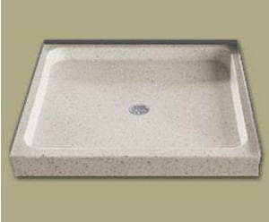 Florestone 36 x 36 in. Shower Base in White F2003636T