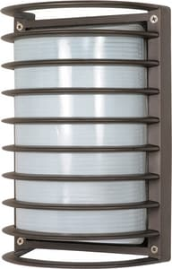 Nuvo Lighting 18 W 1-Light GU24 Lantern in Architectural Bronze N60577