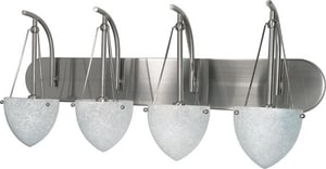 South Beach 60W 4-Light Vanity Fixture N60137