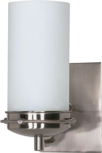 Nuvo Lighting Polaris 100W 1-Light Medium E-26 Vanity Light in Brushed Nickel N60611