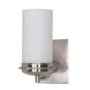 Nuvo Lighting Polaris 13W 1-Light GU24 Incandescent Vanity Light N60494