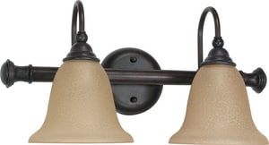 Nuvo Lighting Mericana 100W 2-Light Medium Base Bracket in Old Bronze N60108