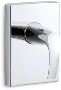 Kohler Symbol® Pressure Balancing Valve Trim with Single Lever Handle KT18490-4