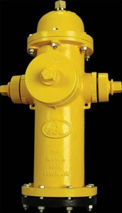American Flow Control 5-1/4 in. Open Hydrant Less Accessories Silver AFCB84BLAOLSILV