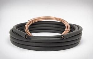 1/4 x 5/8 x 3/8 x 30 ft. Copper Plain End Line Set M41080300B6