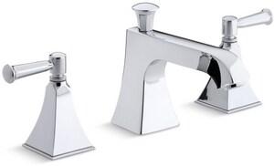 Kohler Memoirs® Deckmount Bath Faucet Trim with Double Lever Handle KT428-4S