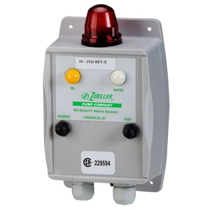 Zoeller 115V Oil Smart Alarm System with Light and Dry Contact Z101526