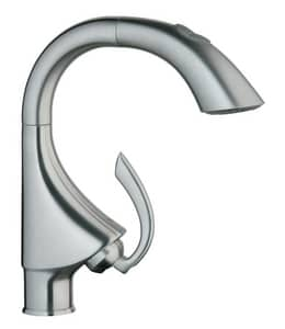 Grohe K4® 1-Hole Sink Mixer Faucet with Single Lever Handle G32073