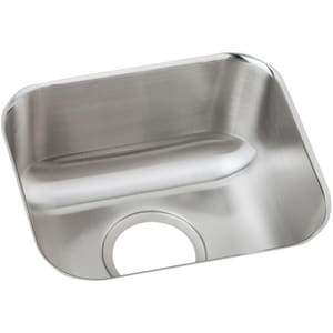 Dayton Single Bowl Undercounter Stainless Steel Bar Sink DDXUH1210