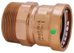 Viega ProPress® XLC Press x MPT Copper Adapter V2082