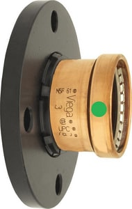 ProPress® XLC Press x Flanged Copper Adapter Flange V2085