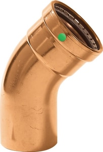 ProPress® XLC FTG x Press Copper 45 Degree Elbow V2066