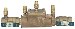 Watts Bronze Double Check Backflow Preventer Assembly WLF007MQT