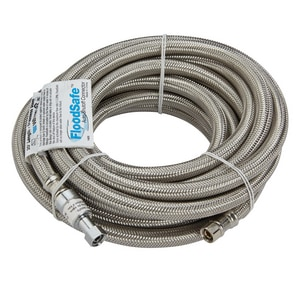Watts Stainless Steel Flex Connector for Ice Maker WFSCICSBB20