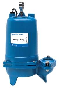 Goulds Pumps 115V 1/2 hp Sewage Pump GWS0511BF