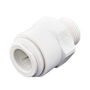 John Guest USA Push x NPT Plastic Adapter JPP011623W