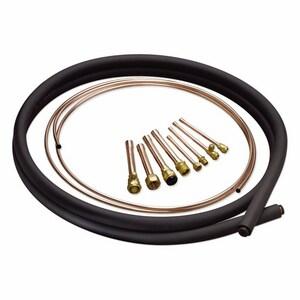 Mueller Industries 7/8 x 3/8 in. Copper Line Set M614401