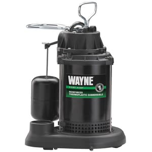 Wayne Water Systems Thermoplastic Submersible Pump WSPF33