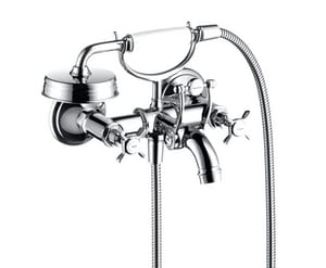 AXOR Montreux Wall Mounted Tub in Polished Chrome AX16540001