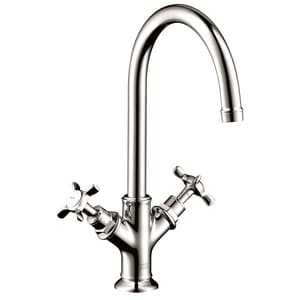 Axor Montreux 1.5 gpm Double Cross Handle 1-Hole Lavatory Faucet AX16502