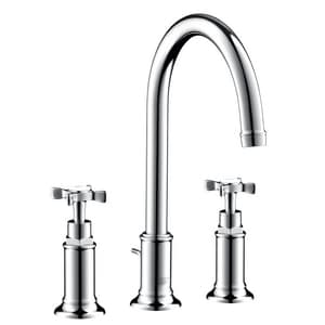 AXOR Montreux 1.2 gpm Widespread Lavatory Faucet AX16513