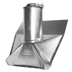 F.J. Moore Galvanized Slant Roof Flashing with Neo M3R