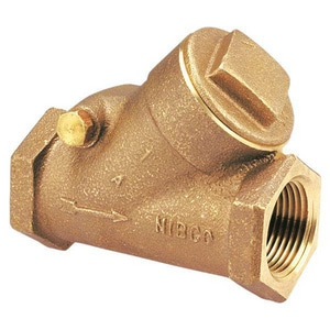 Nibco 300# Bronze Threaded Check Valve NT473B