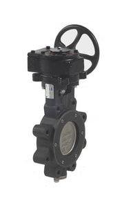 Milwaukee Valve HP Series 150# Carbon Steel and Stainless Steel Lug Butterfly Valve MHP1LCS4213