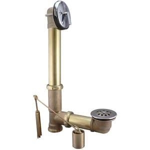 Keeney Brass Trip Lever Waste and Overflow KEE607RB