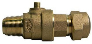 A.Y. McDonald Tube Compression Ball Valve Corporation Stop M74701BQ