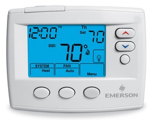 White Rodgers Non Programmable Dual Power Digital Thermostat W1F860471