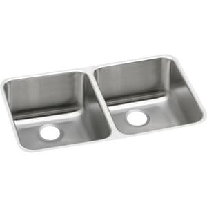 Elkay Gourmet® 2-Bowl Undercounter Kitchen Sink EELUH311810R