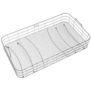Elkay Wavy Wire Rinse Basket in Stainless Steel ELKWRB2816SS