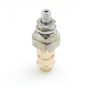 T&S Brass Cold Ceramic Cartridge with Escutcheon T01161925