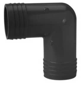 Insert Straight PVC 90 Degree Elbow PI9