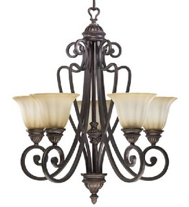 Quorum International Summerset 28 in. 5-Light Chandelier Q61265