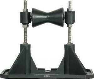 Mapa Manufacturing 4 - 6 in. Roller Roof Support With Adjustable Height MMT2RA