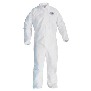 Kimberly Clark Kleenguard® Zipper Coverall in White K44316