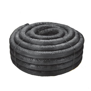 Advanced Drainage Systems 100 ft. Plastic Drainage Pipe A04430