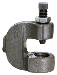 Anvil Galvanized Malleable Iron C Clamp with Locknut GG86
